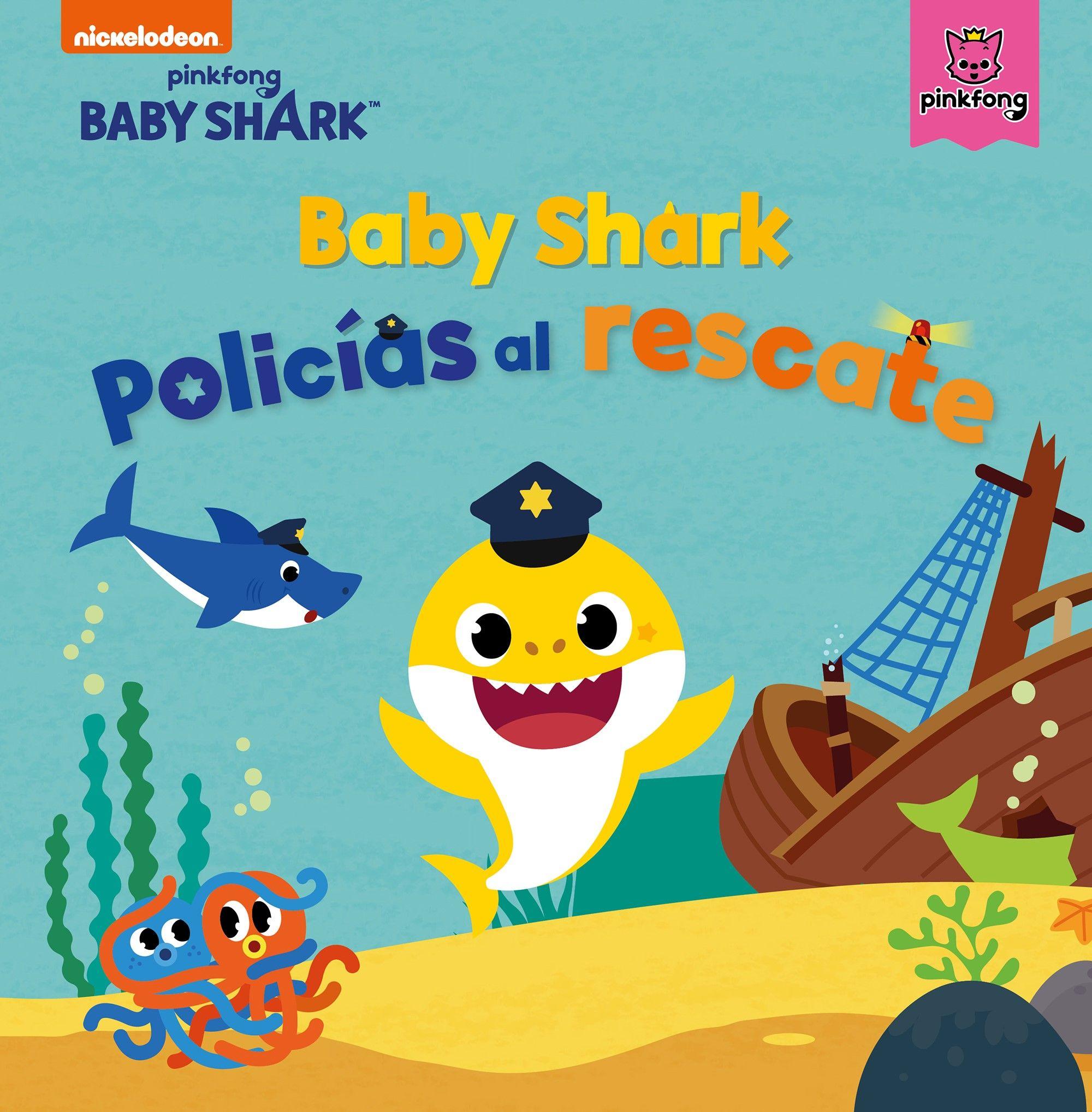 BABY SHARK POLICIAS AL RESCATE