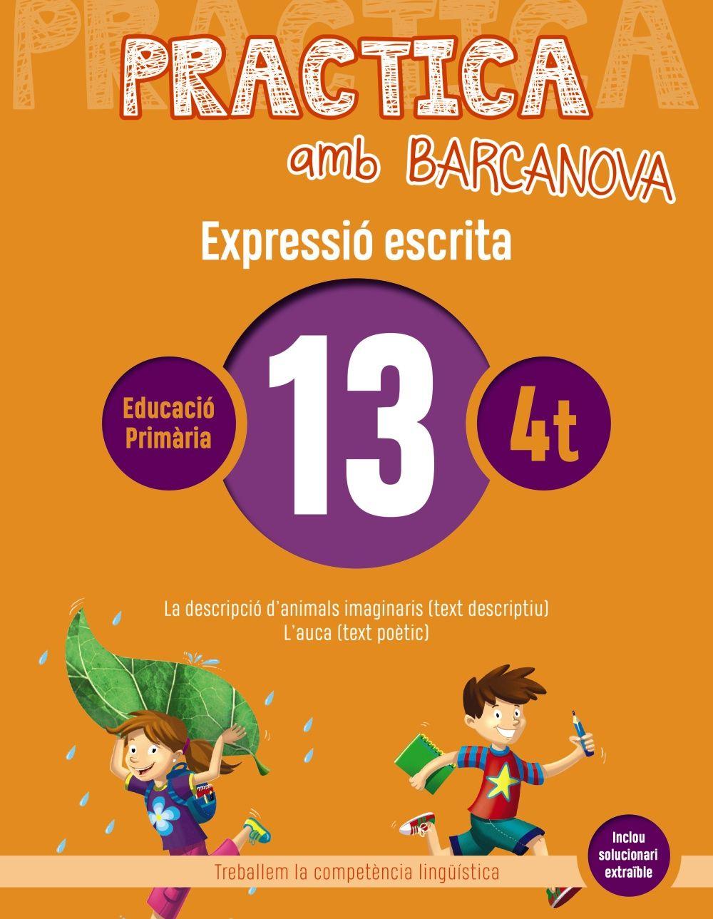 PRACTICA AMB BARCANOVA 13. EXPRESSIÓ ESCRITA