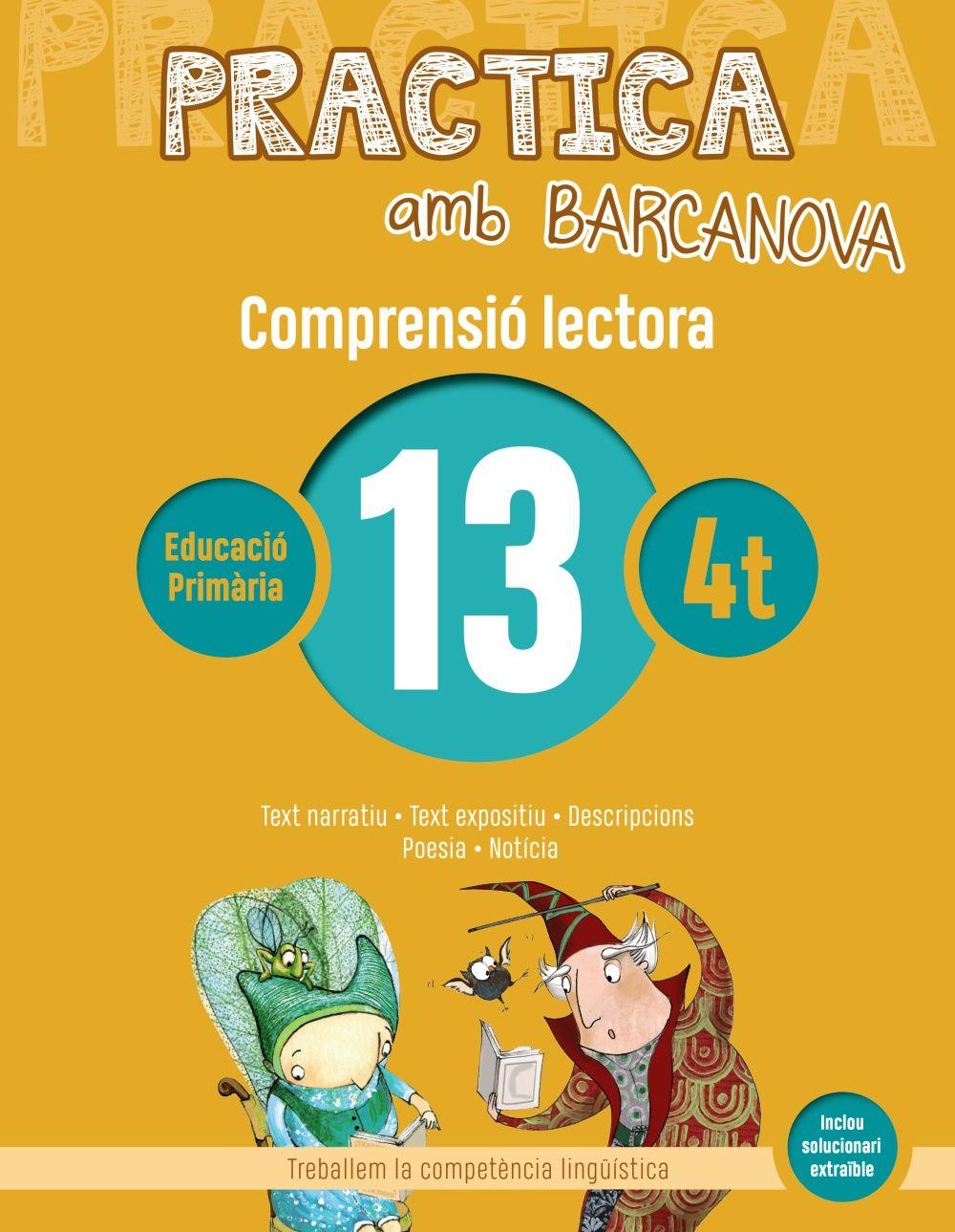 PRACTICA AMB BARCANOVA 13. COMPRENSIÓ LECTORA