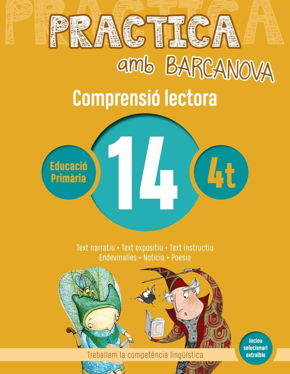 PRACTICA AMB BARCANOVA 14. COMPRENSIÓ LECTORA