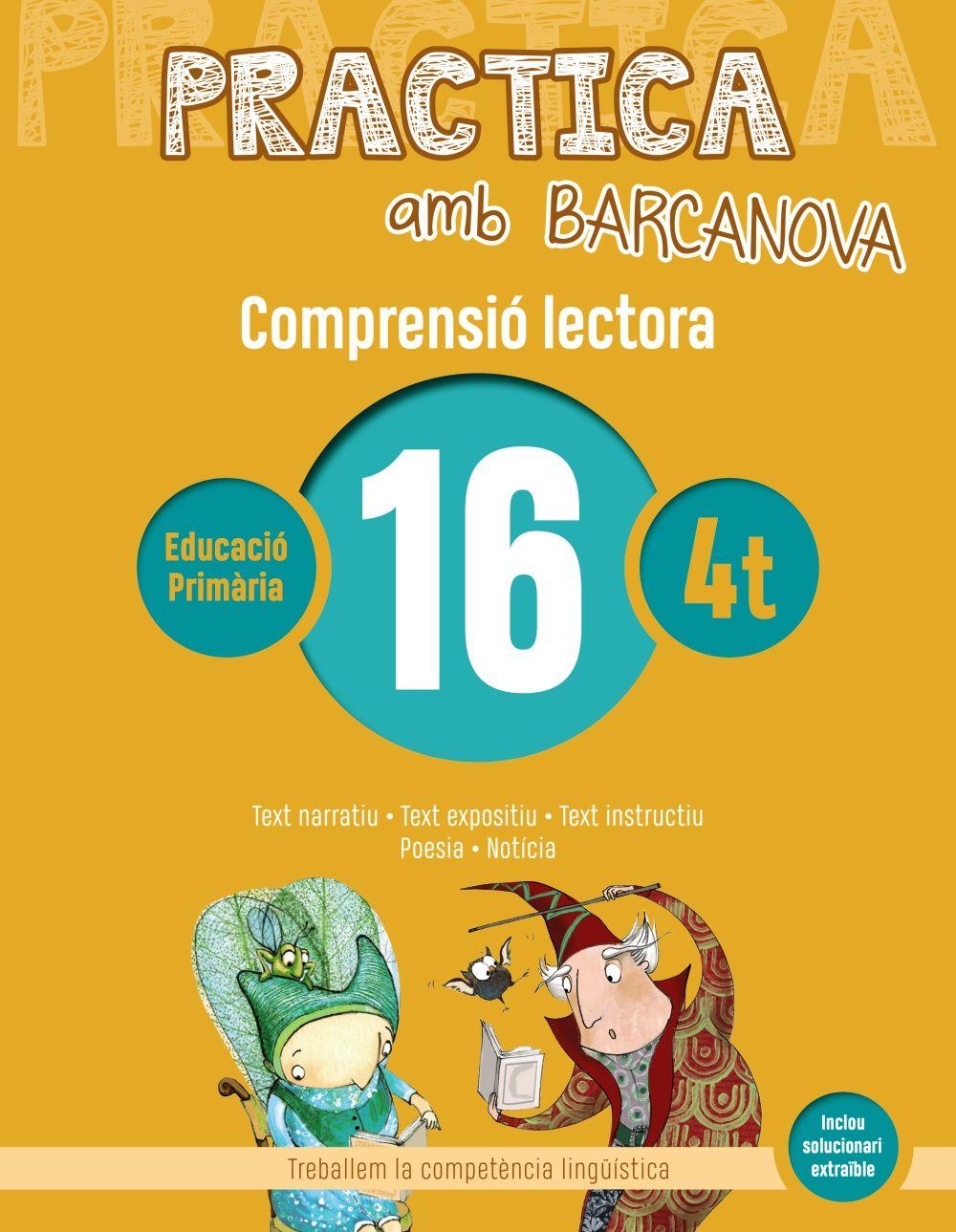PRACTICA AMB BARCANOVA 16. COMPRENSIÓ LECTORA