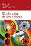 DICCIONARIO DE LOS COLORES