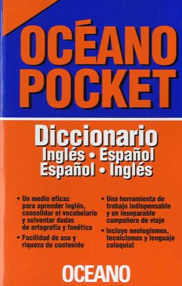 POCKET DICCIONARIO INGLES ESPAÑOL ESPAÑOL INGLES