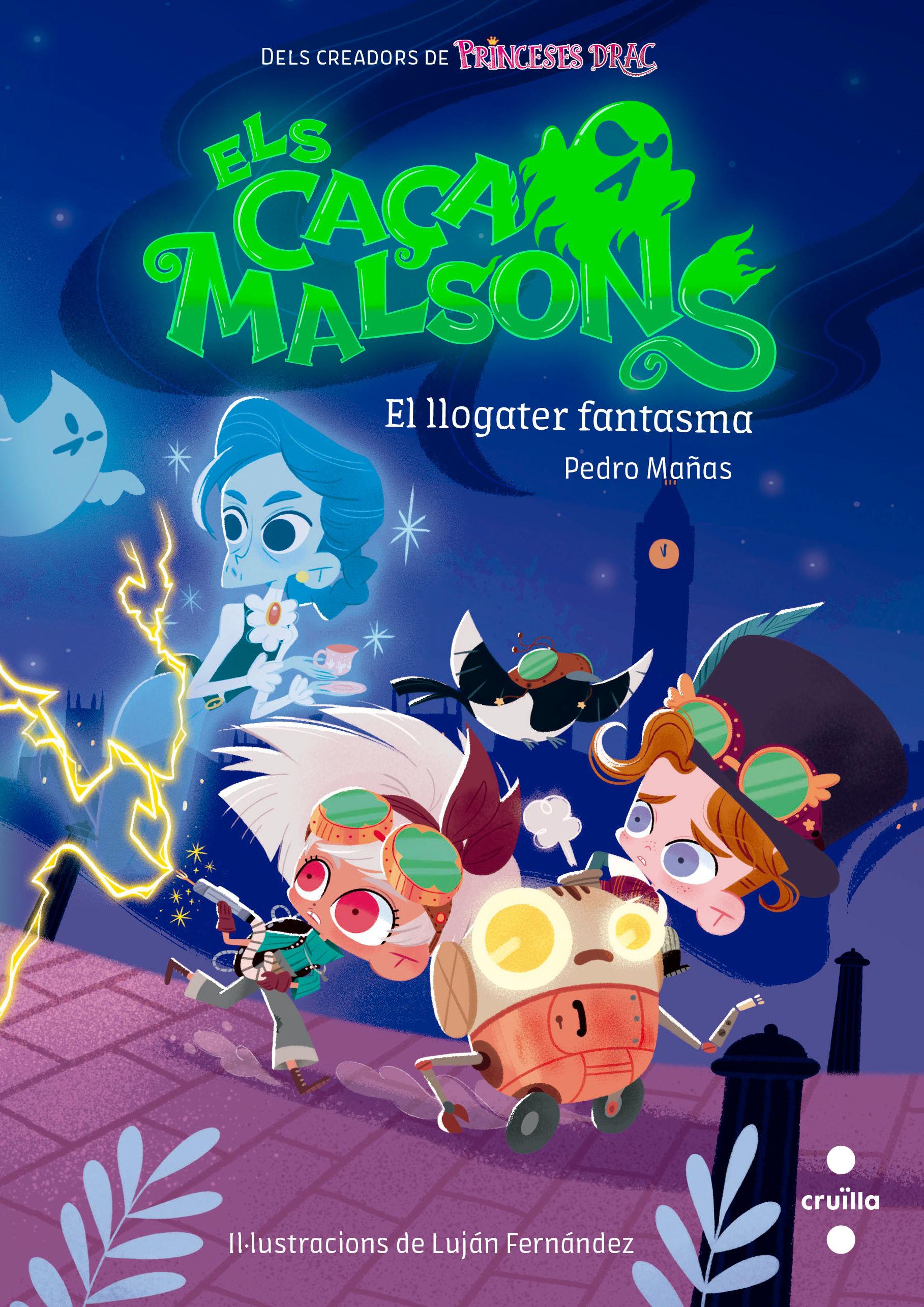 CAÇA MALSONS 1 EL LLOGATER FANTASMA