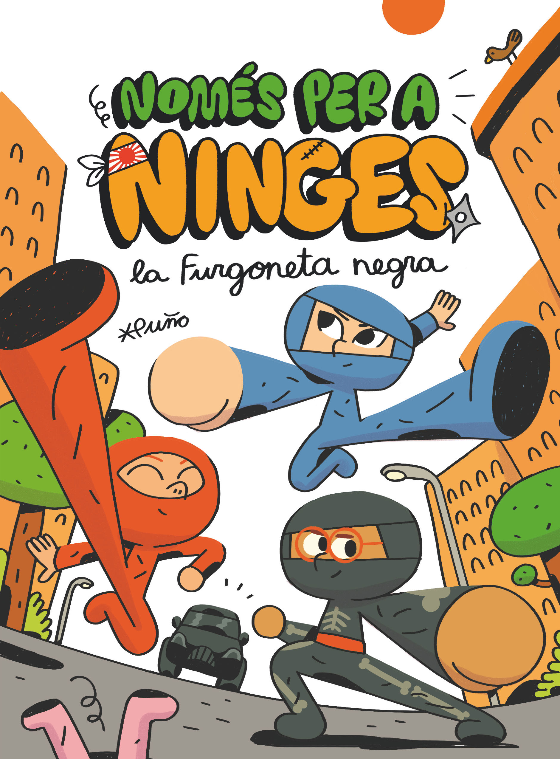 NOMES PER A NINGES 1 LA FURGONETA NEGRA