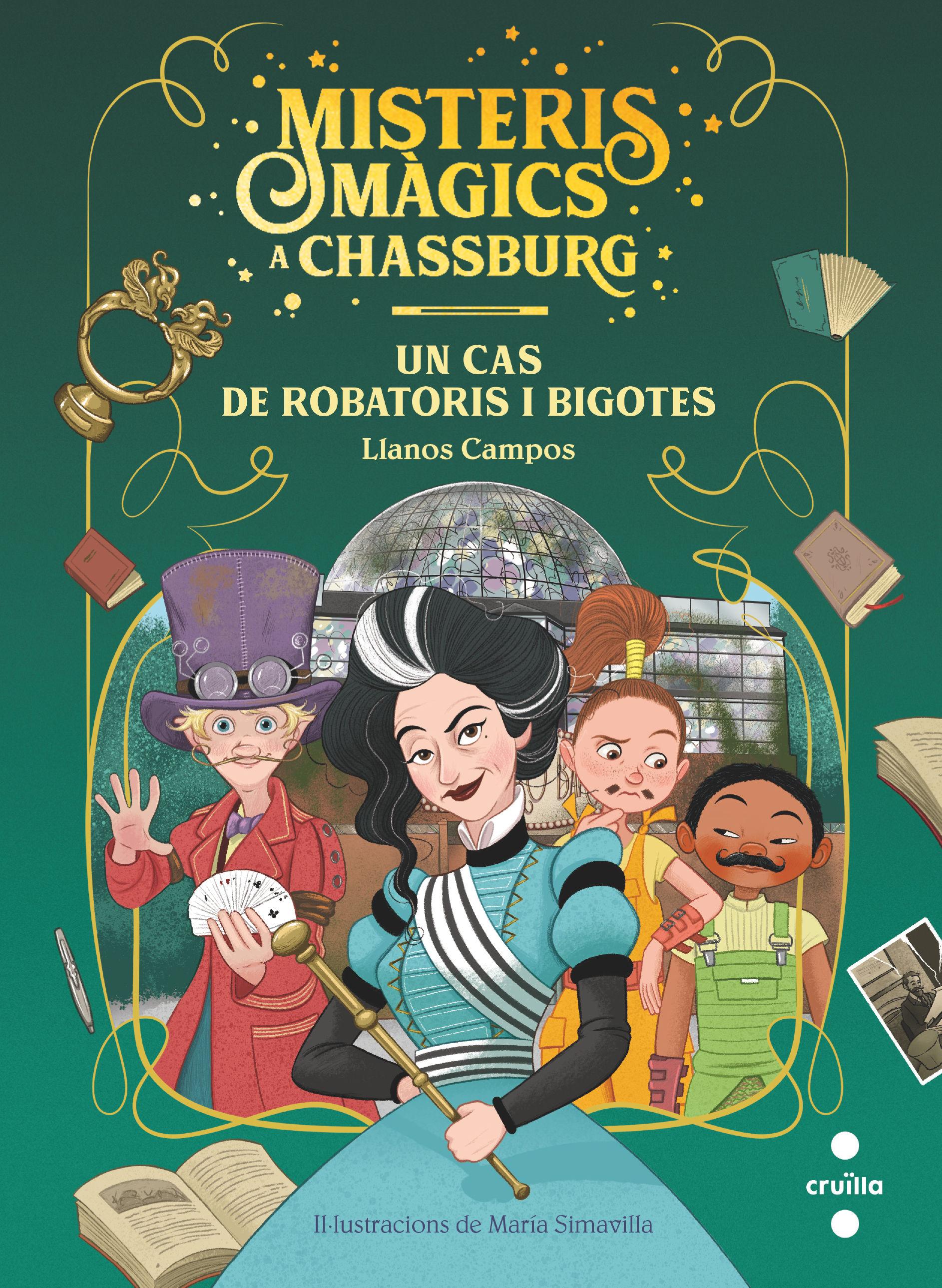 MISTERIS MAGICS A CHASBURG 3 UN CAS DE ROBATORIS I BIGOTIS
