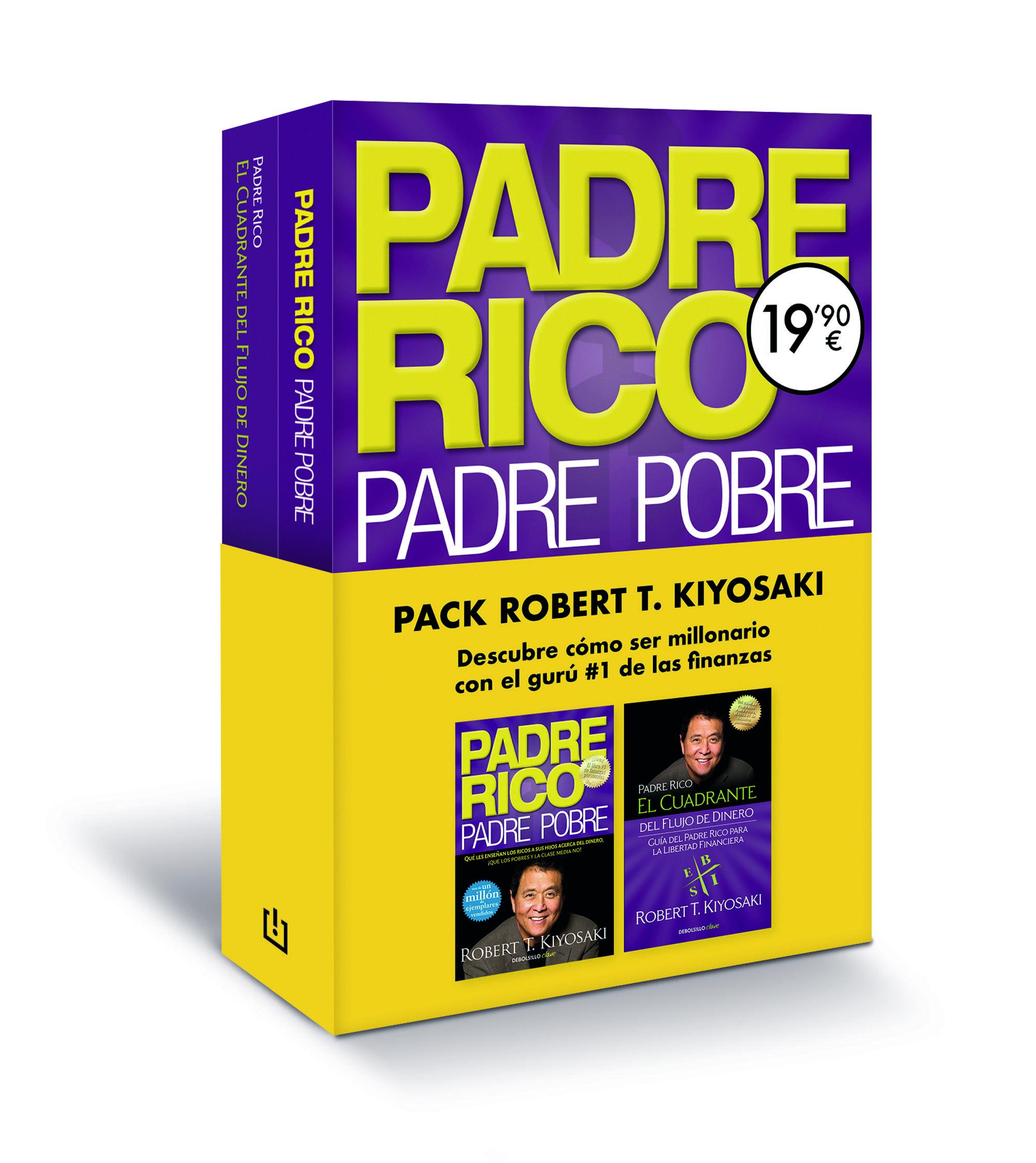 PADRE RICO PADRE POBRE Y EL CUADRANTE DEL FLUJO DE DINERO PACK