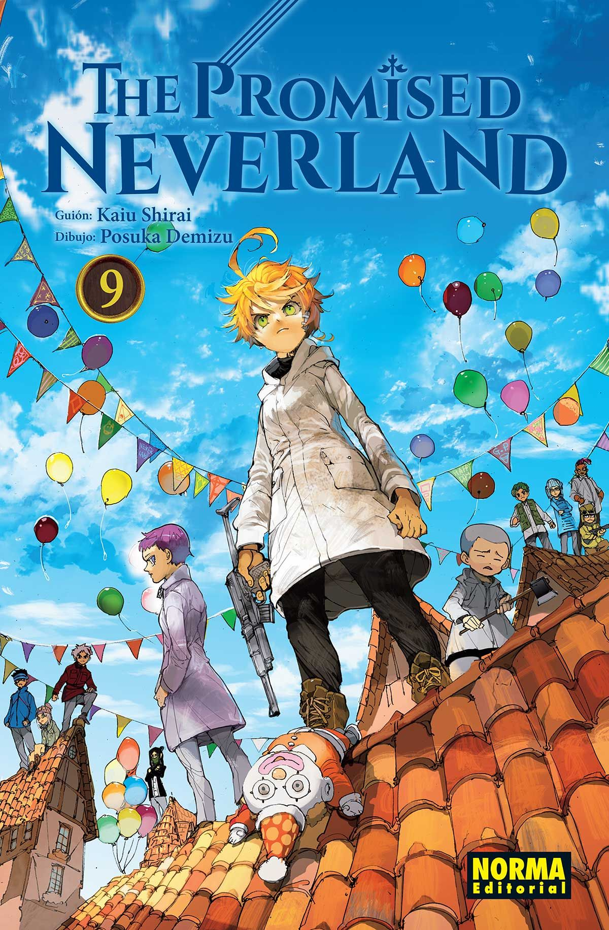 PROMISED NEVERLAND 9 THE