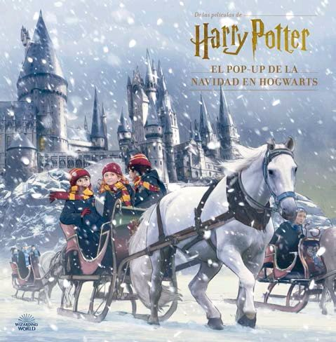 HARRY POTTER EL POP-UP DE LA NAVIDAD EN HOGWARTS