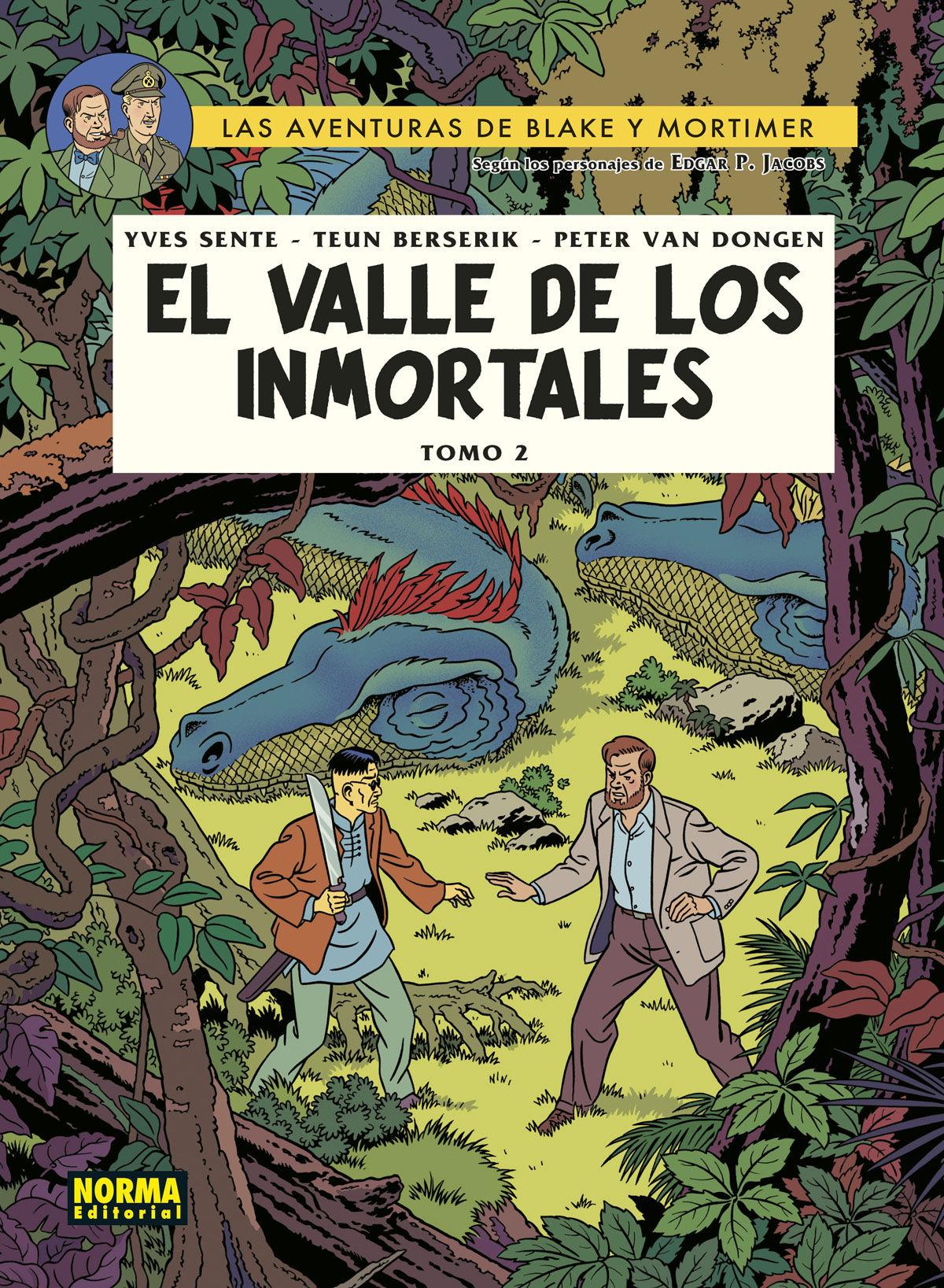 BLAKE & MORTIMER 26 EL VALLE DE LOS INMORTALES 2