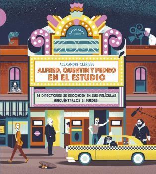ALFRED QUENTIN Y PEDRO EN EL ESTUDIO