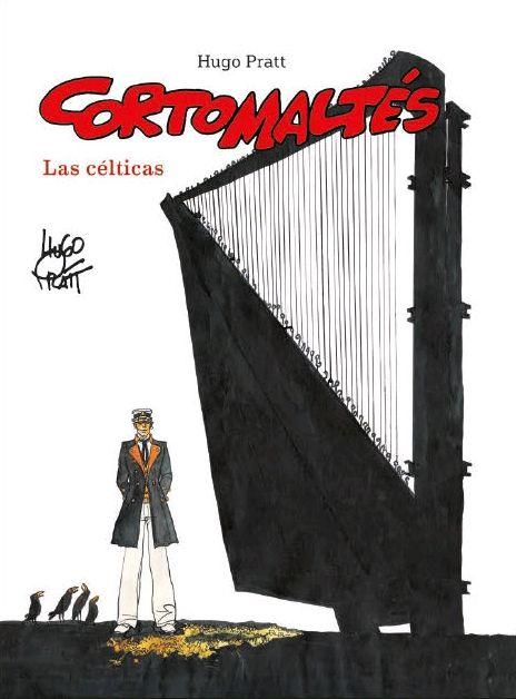 CORTO MALTÉS LAS CÉLTICAS COLOR