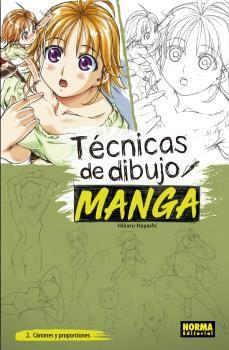 TECNICAS DE DIBUJO MANGA 02 CÁNONES Y PROPORCIONES