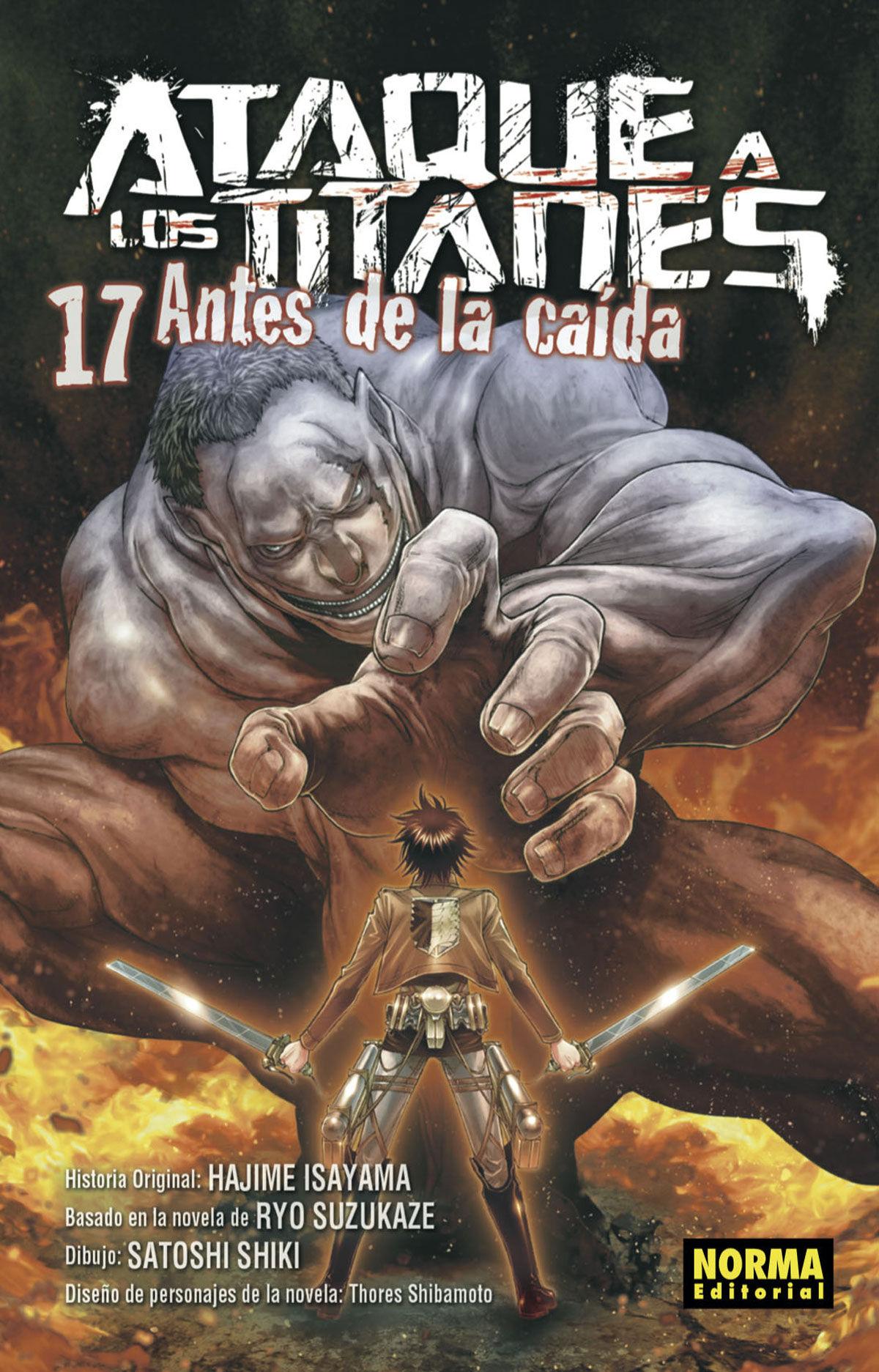 ATAQUE A LOS TITANES AN TES DE LA CAÍDA 17