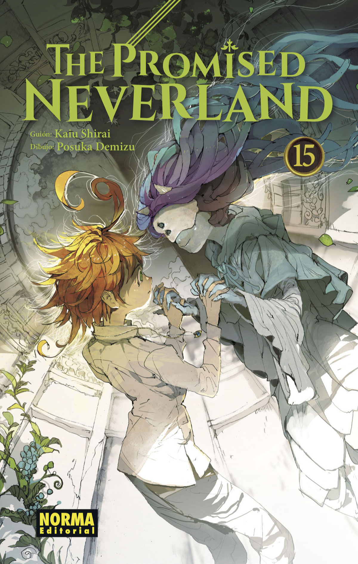 PROMISED NEVERLAND 15 THE