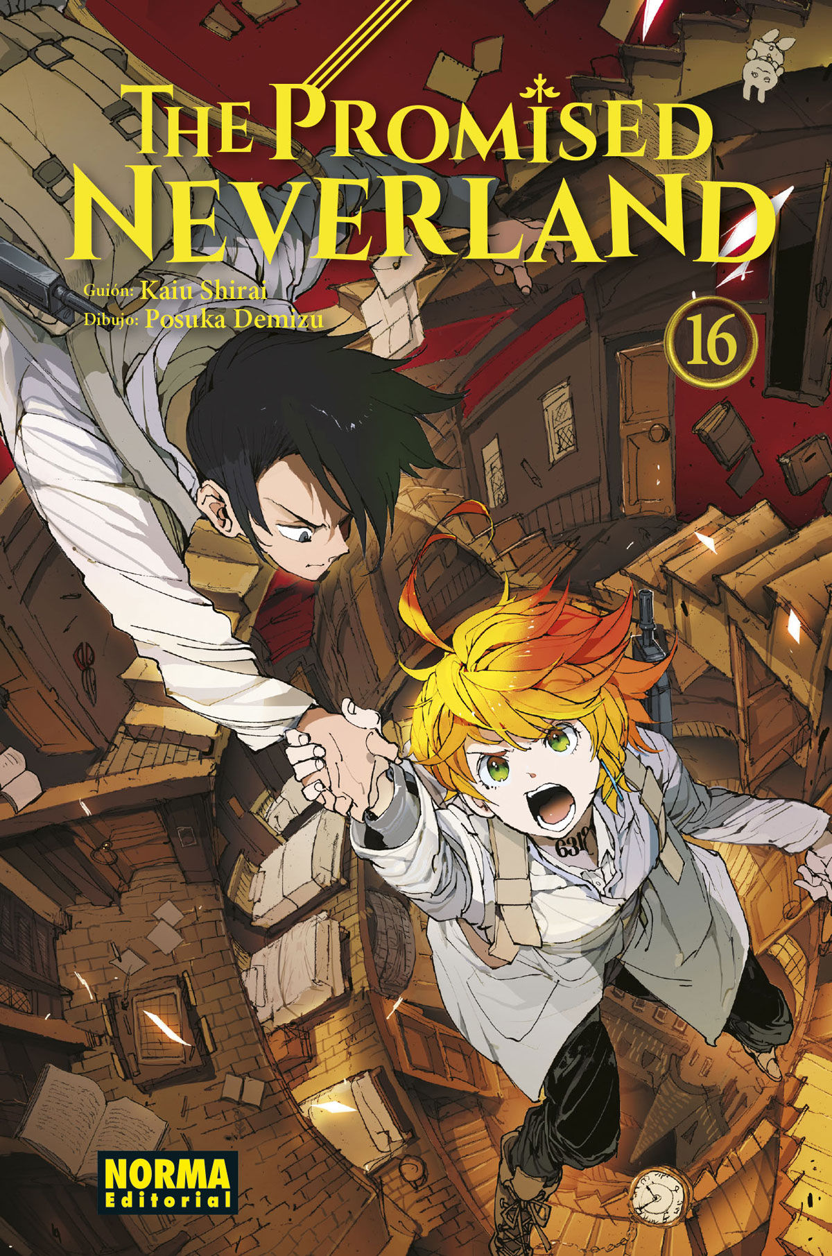 PROMISED NEVERLAND 16 THE