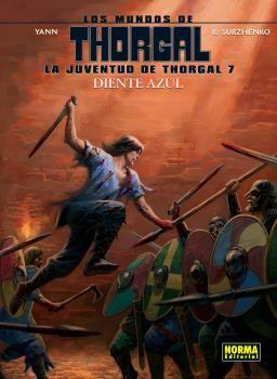 JUVENTUD DE THORGAL 7 DIENTE AZUL LA
