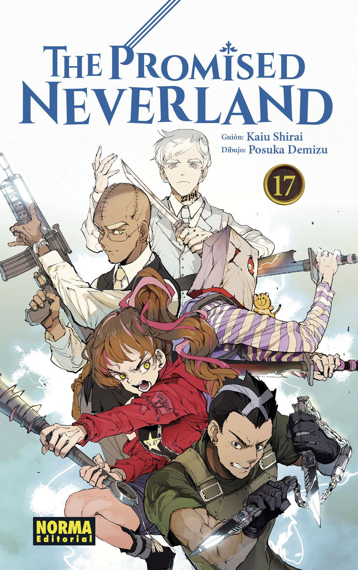 PROMISED NEVERLAND 17 THE