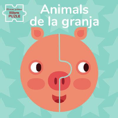 ANIMALS DE GRANJA EL MEU PRIMER LLIBRE PUZLE (VVK