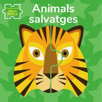 ANIMALS SALVATGES EL MEU PRIMER LLIBRE PUZLE (VVKIDS)