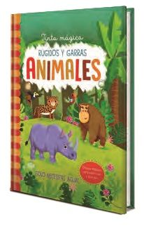 TINTA MAGICA ANIMALES RUGIDOS Y GARRAS