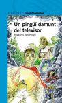 UN PINGUI DAMUNT DEL TELEVISOR