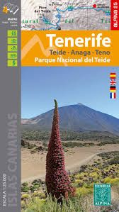 TENERIFE 1:25.000 4 MAPES TEIDE ALPINA