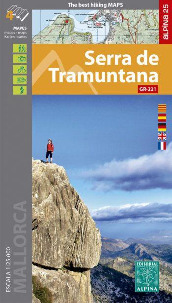 SERRA DE TRAMUNTANA [4 MAPES] 1:25.000 -ALPINA