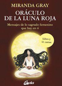 ORACULO DE LA LUNA ROJA LIBRO + 41 CARTAS