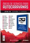 AREAS DE SERVICIO PARA AUTOCARAVANAS 2018-2019