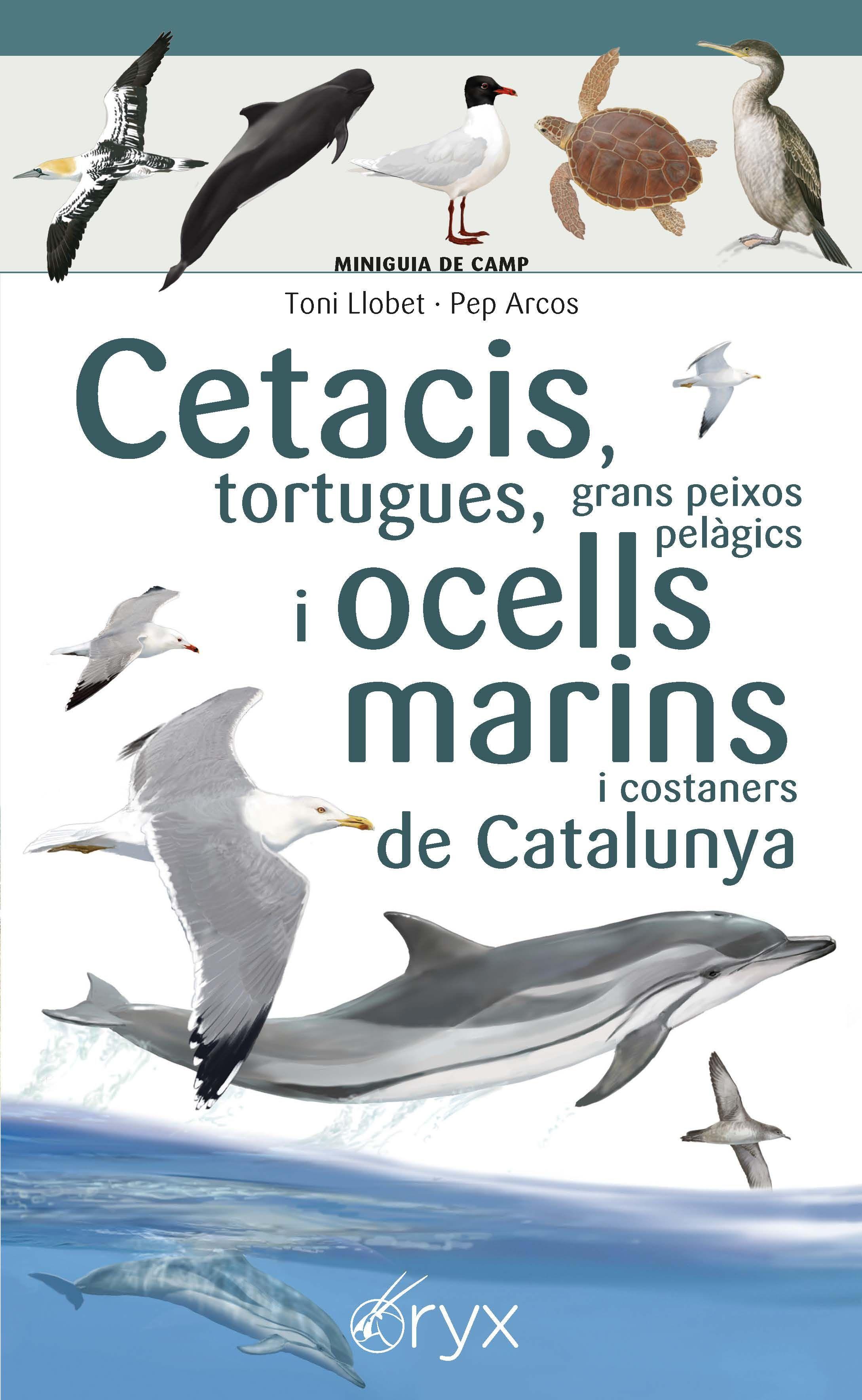 CETACIS TORTUGUES, GRANS PEIXOS PELÀGICS I OCELLS MARINS DE CATALUNYA