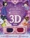 MI GRAN LIBRO DE PEGATINAS EN 3D