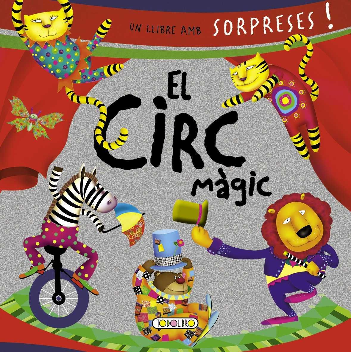 CIRC MAGIC EL UN LLIBRE AMB SORPRESES
