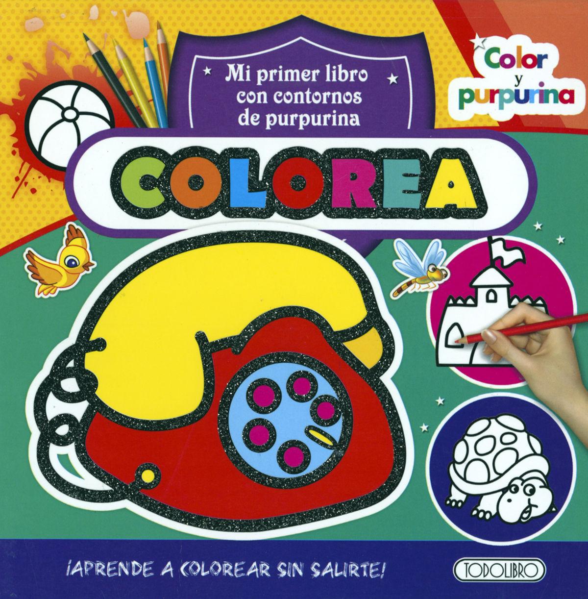 COLOREA COLOR Y PURPURINA (TELEFONO)