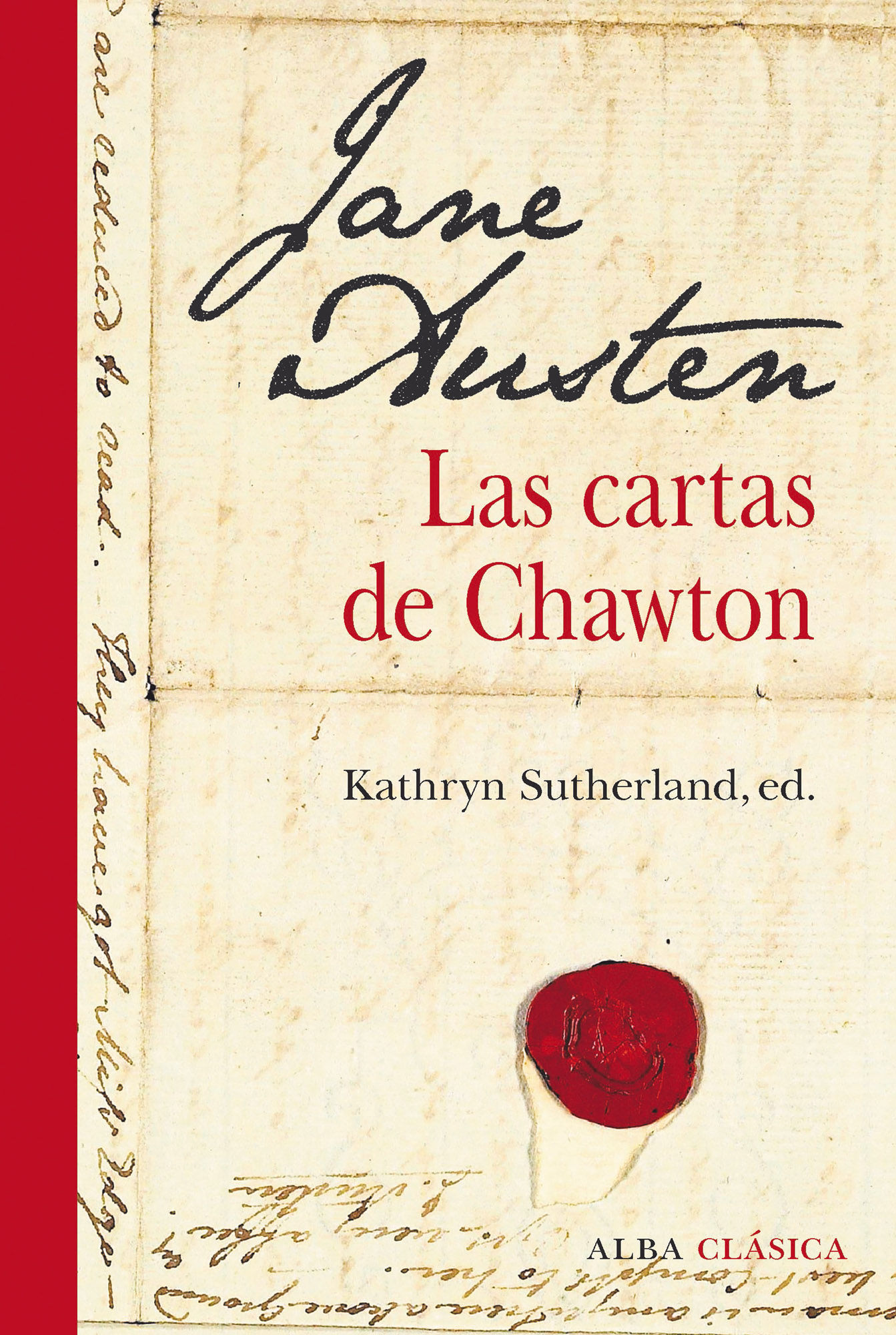 JANE AUSTEN LAS CARTAS DE CHAWTON