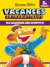 VACANCES EXTRARATIQUES 5E PRIMARIA
