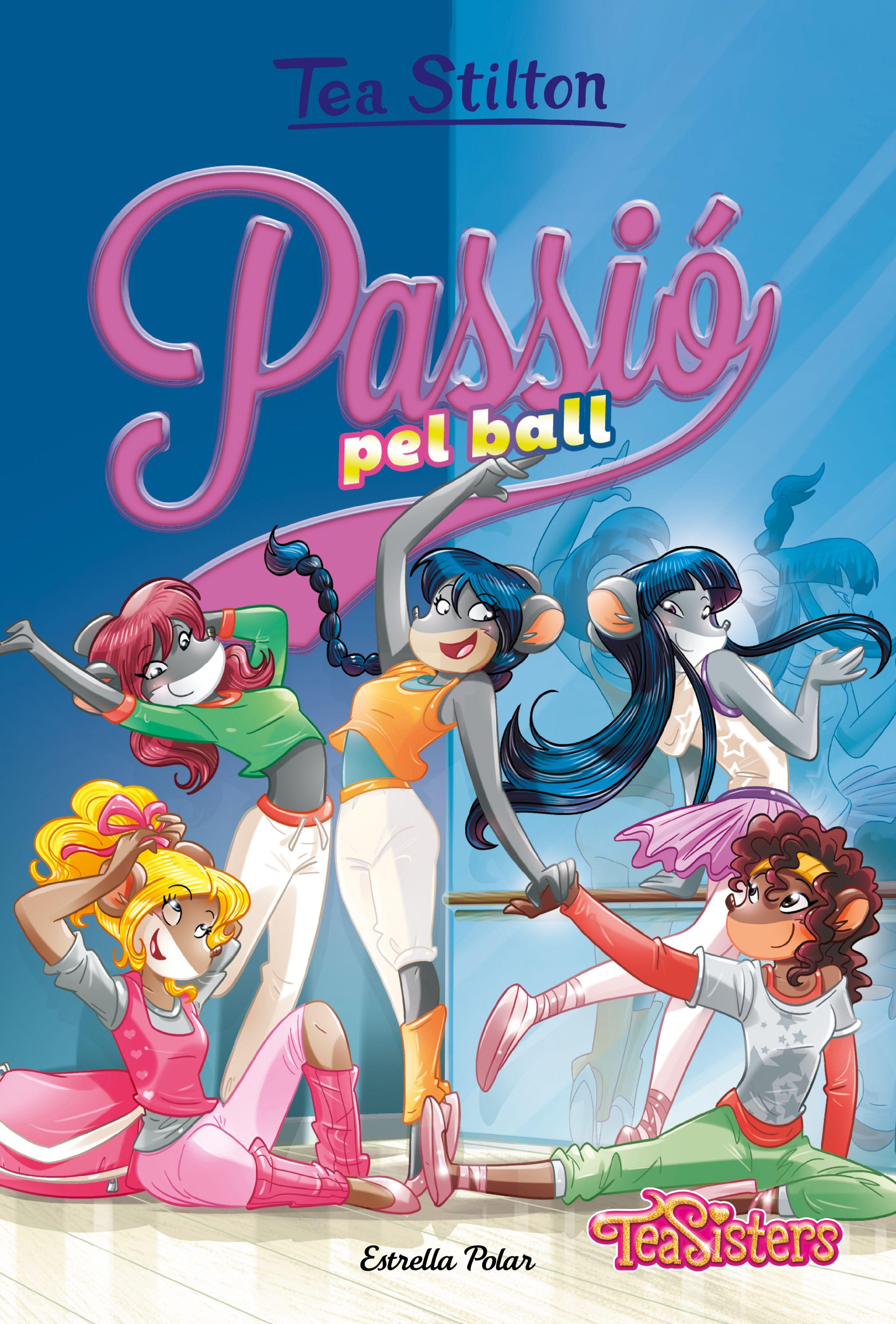 TEA STILTON 32 PASSIO PEL BALL