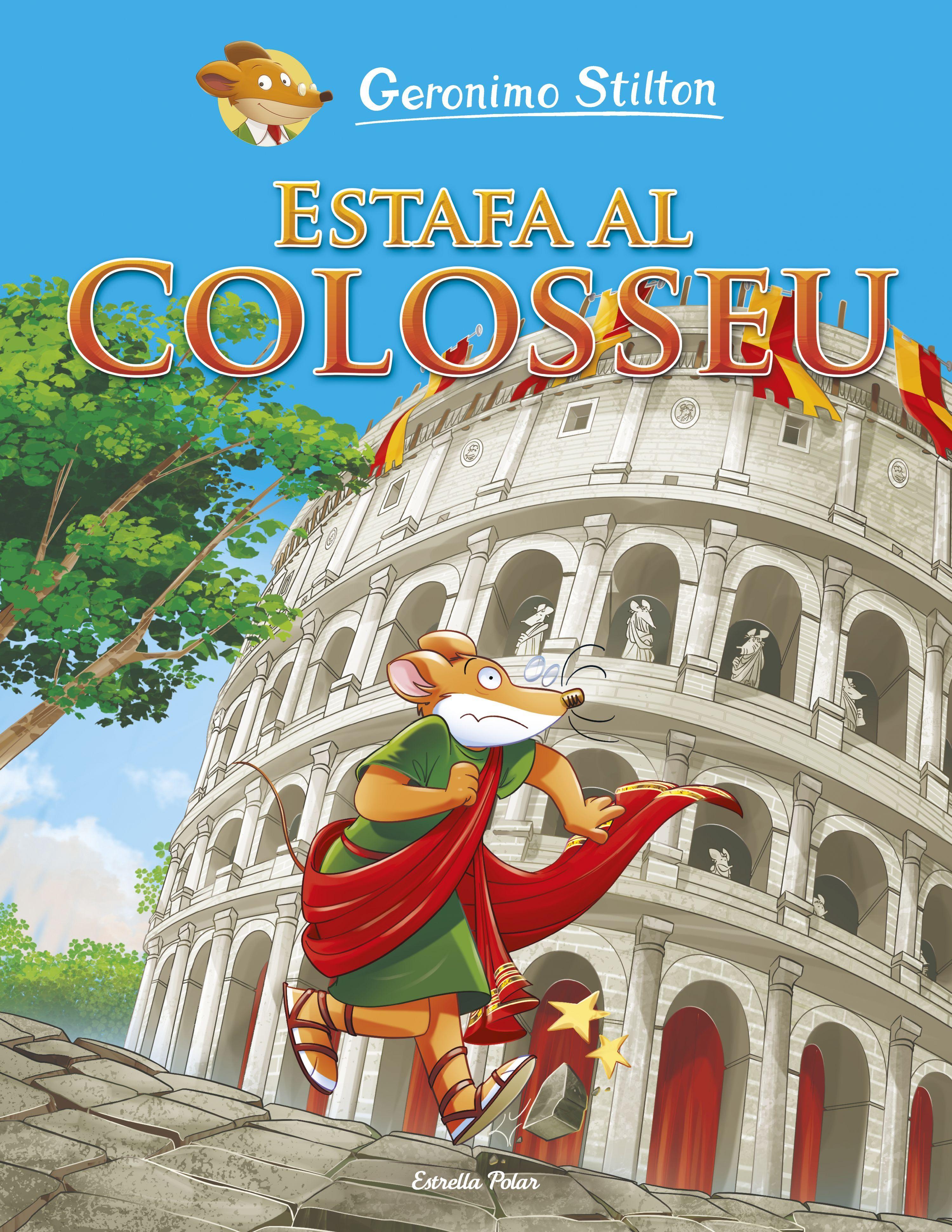 GERONIMO STILTON ESTAFA AL COLOSSEU COMIC