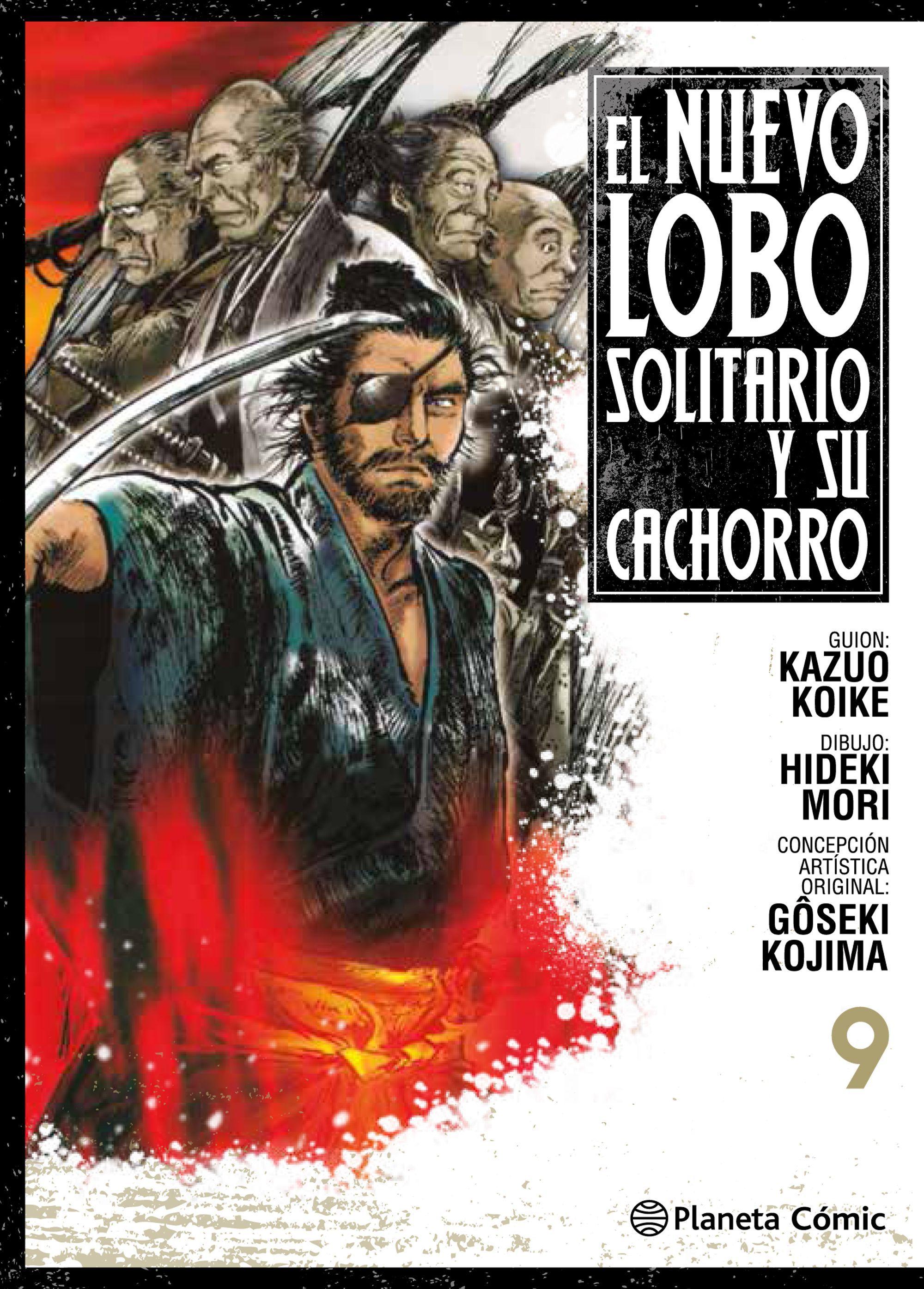 NUEVO LOBO SOLITARIO Y SU CACHORRO Nº 09