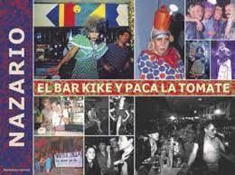 NAZARIO EL BAR KIKE Y PACA LA TOMATE