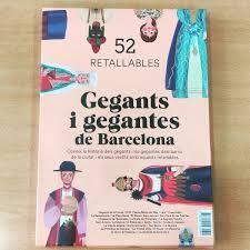 GEGANTS I GEGANTES DE BARCELONA 50 RETALLABLES