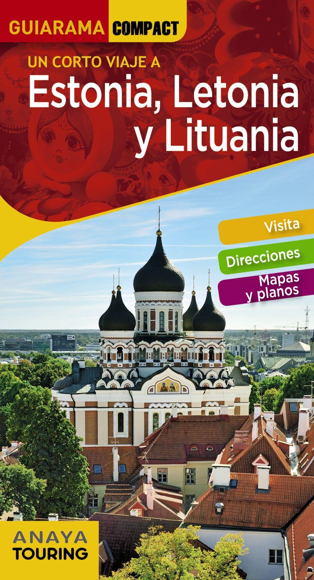ESTONIA LETONIA Y LITUANIA GUIARAMA