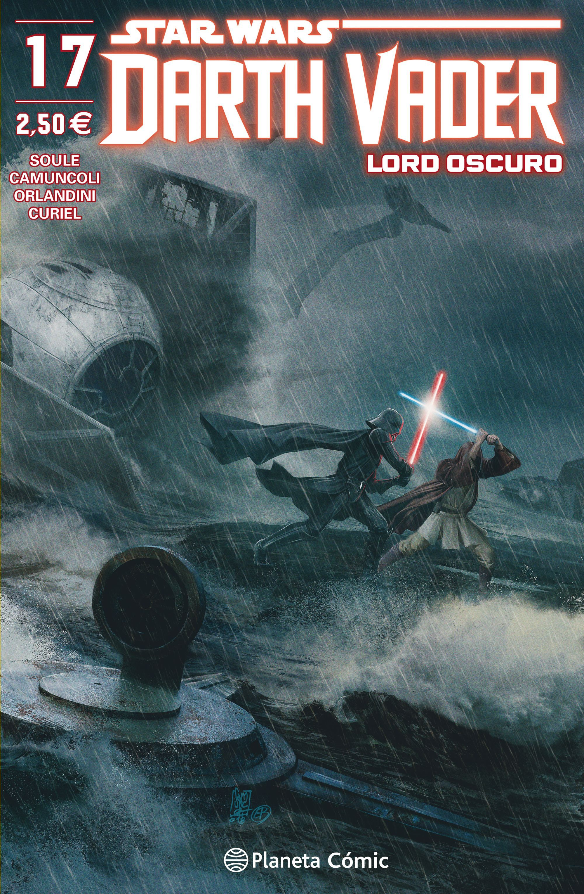 STAR WARS DARTH VADER LORD OSCURO Nº 17