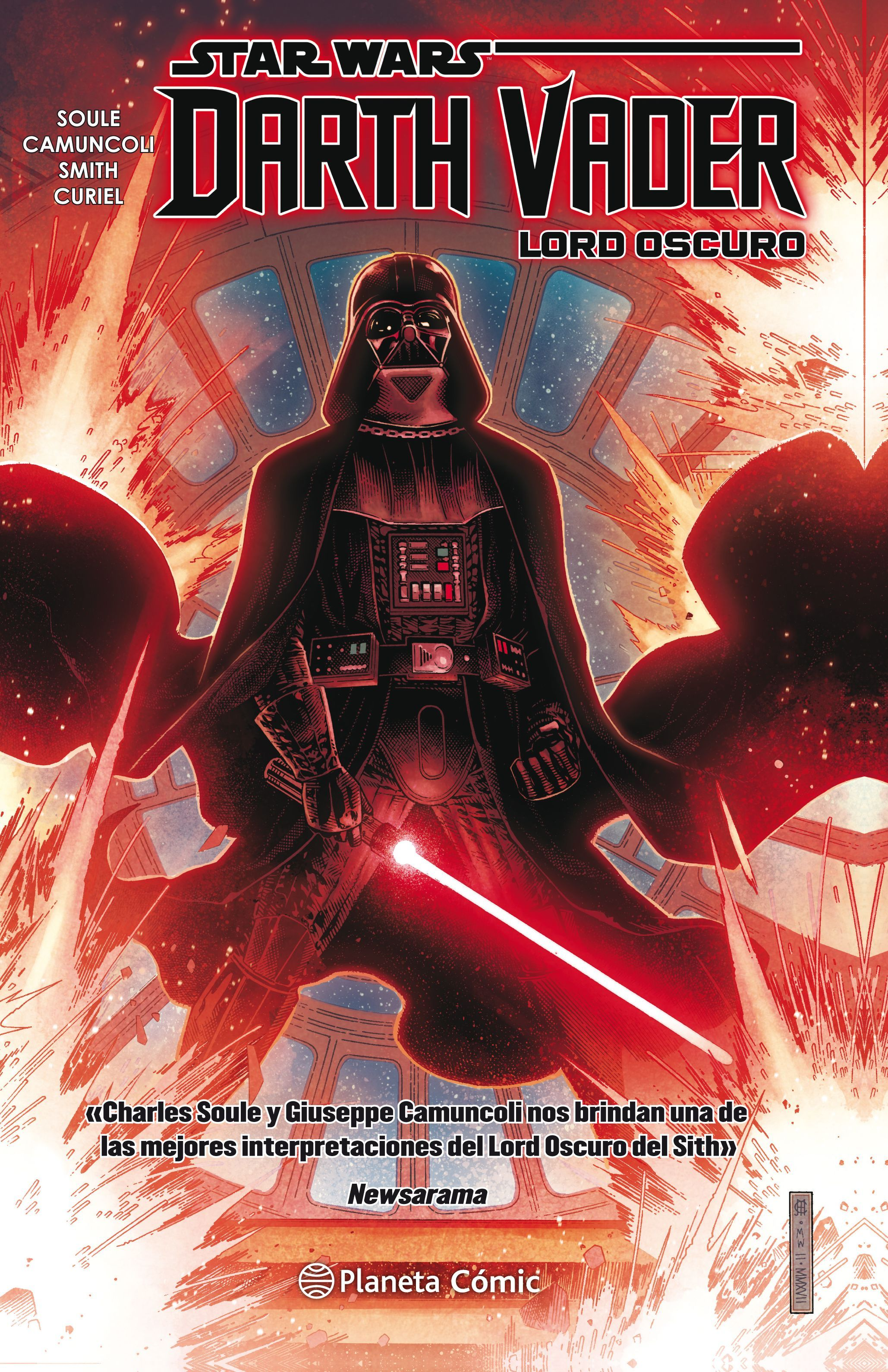 STAR WARS DARTH VADER LORD OSCURO TOMO RECOPILATORIO Nº 01