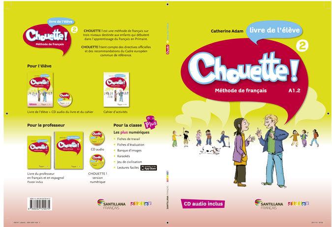 CHOUETTE 2 LIVRE ELEVE + CD