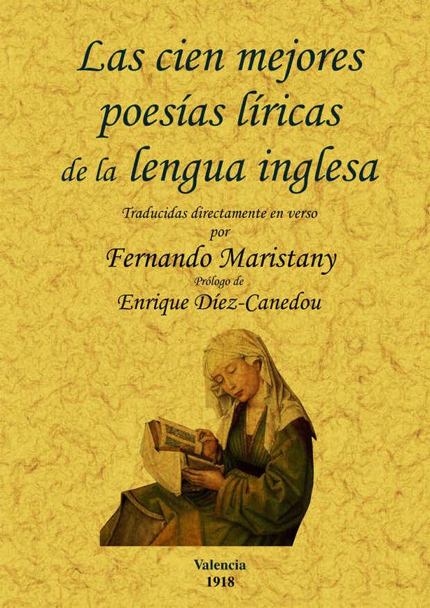 CIEN MEJORES POESIAS (LIRICAS)DE LA LENGUA INGLESA