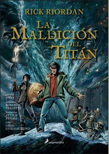 MALDICION DEL TITAN LA PERCY JACKSON GRAFICA 3