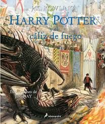 HARRY POTTER Y EL CALIZ DE FUEGO ILUSTRADO