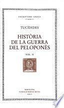 HISTORIA DE LA GUERRA DEL PELOPONES - VOL II