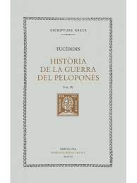 HISTÒRIA DE LA GUERRA DEL PELOPONNÈS, VOL. IV: LLIBRE IV